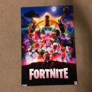 Custom Fortnite Poster